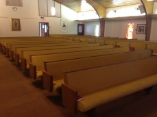 Church Pews - Before